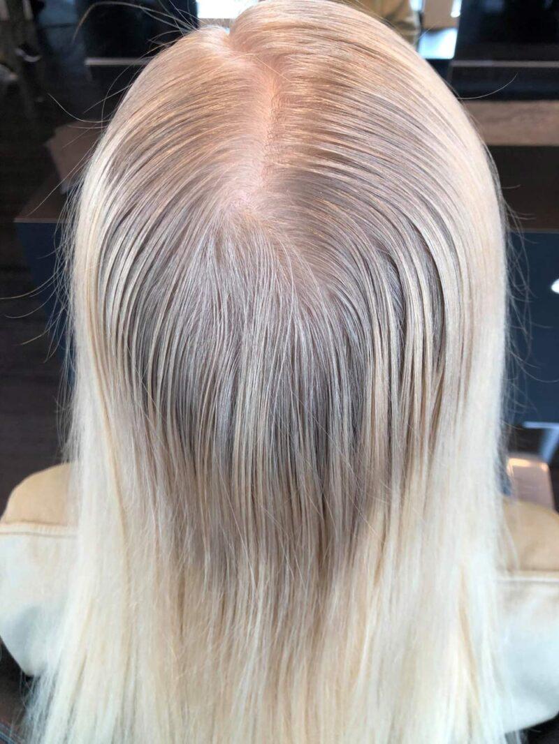 Färgning av hår - förebild