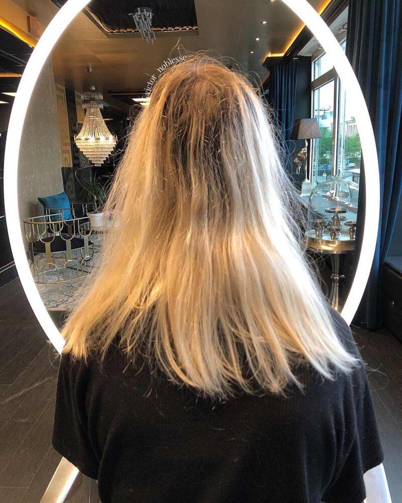 Helblekning av hår